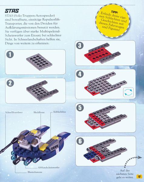 lego star wars buch mit lego steine set buch b. Black Bedroom Furniture Sets. Home Design Ideas
