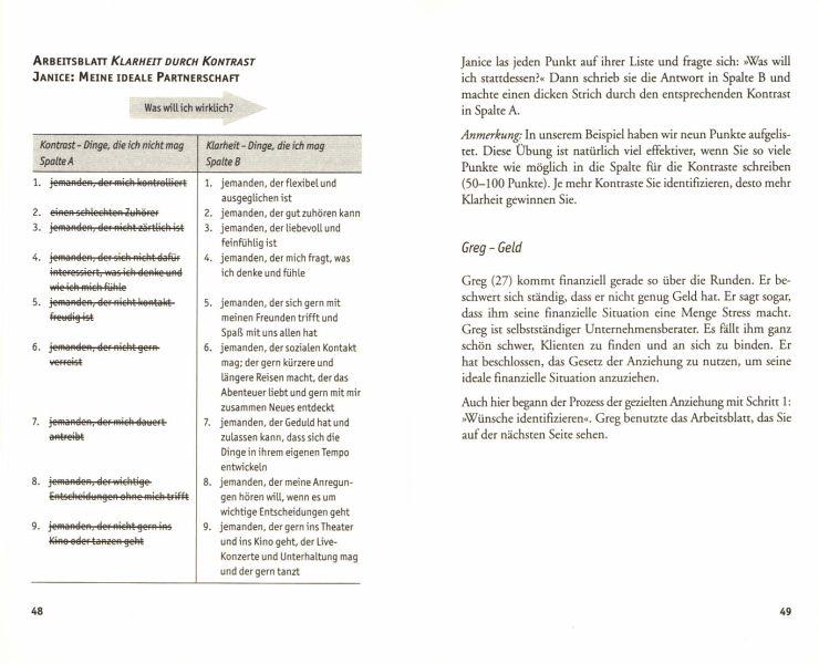 Funky Gesetz Der Anziehung Arbeitsblatt Embellishment - Kindergarten ...
