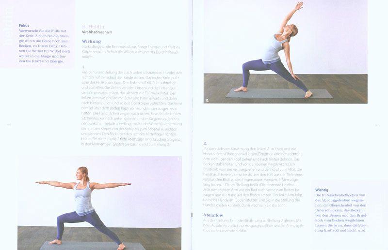 cantienica yoga f r schwangere von benita cantieni andrea tresch buch. Black Bedroom Furniture Sets. Home Design Ideas