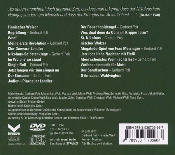 fr hliche frohheit 1 audio cd 1 dvd von gerhard polt. Black Bedroom Furniture Sets. Home Design Ideas