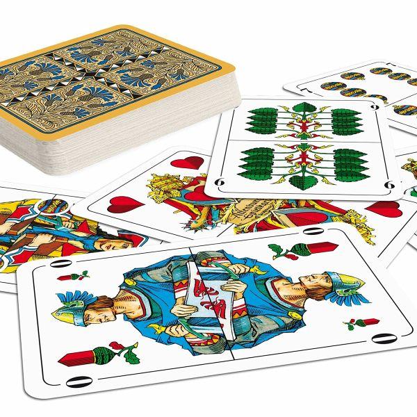 Wo Ist Das Gehirn Kartenspiel Buecherde: ASS Altenburger Spielkarten 70204