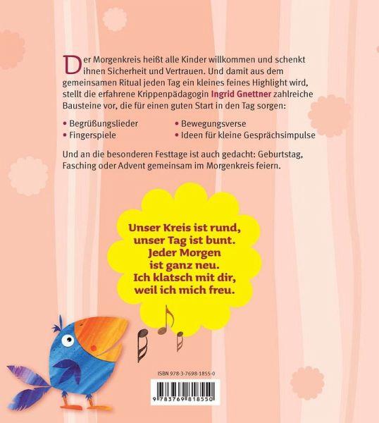 Das Morgenkreis Spielebuch Von Ingrid Gnettner Fachbuch Bucher De