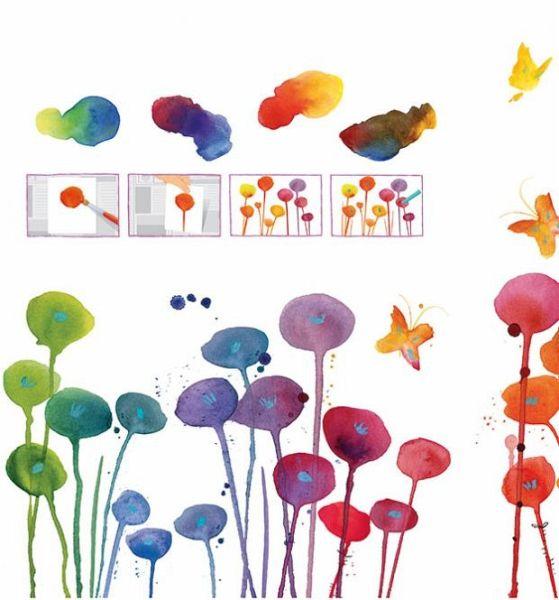 365 ideen zum malen und zeichnen von fiona watt buch. Black Bedroom Furniture Sets. Home Design Ideas