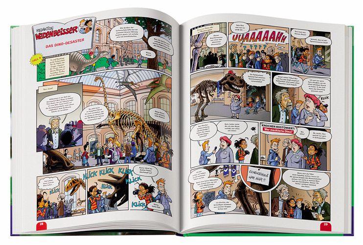 Buch Comic erotisch und Streifen