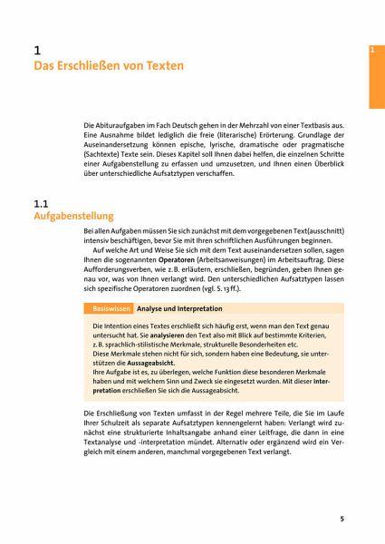 Textanalyse Und Textinterpretation Duden Abiwissen Deutsch
