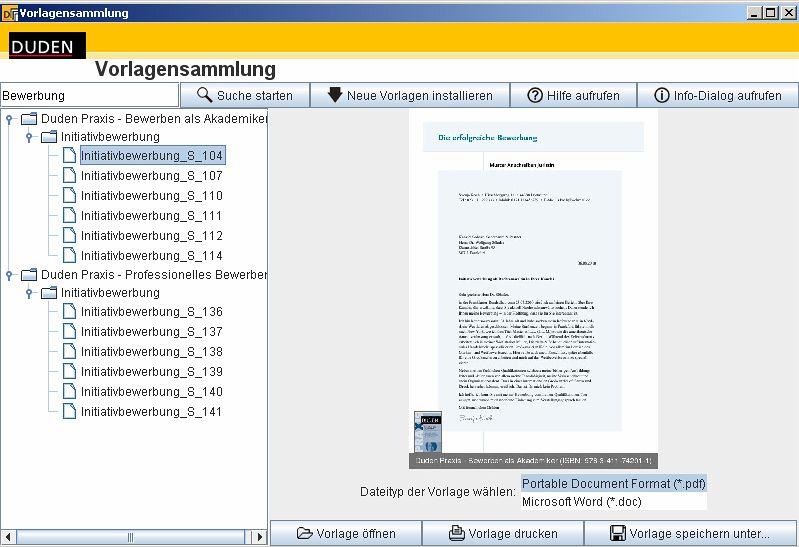 fotogalerie - Bewerbung Software