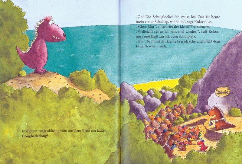 Der Kleine Drache Kokosnuss Kommt In Die Schule Erst Ich Ein Stück Dann Du Der Kleine Drache Kokosnuss Bd 3