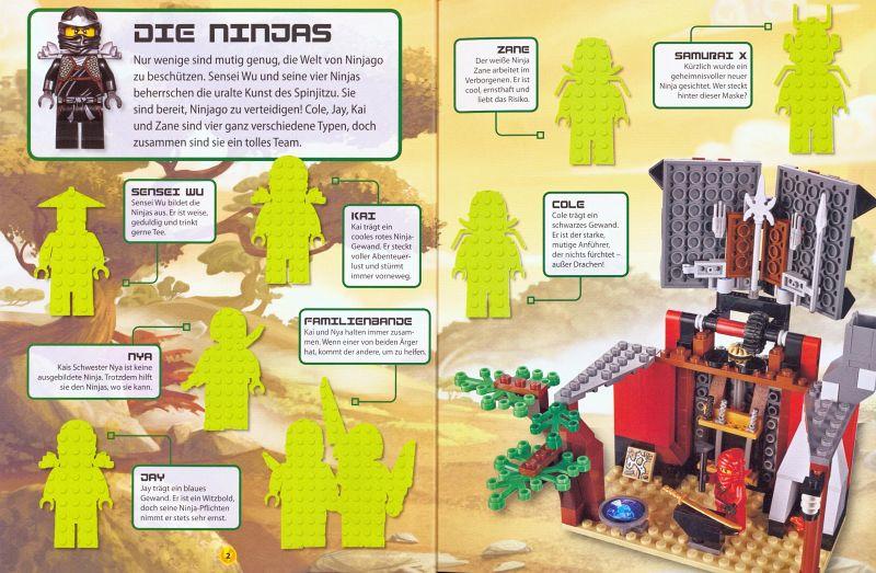 Lego ninjago das große stickerbuch buch buecher