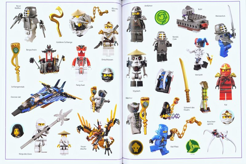 lego ninjago das gro e stickerbuch portofrei bei b. Black Bedroom Furniture Sets. Home Design Ideas