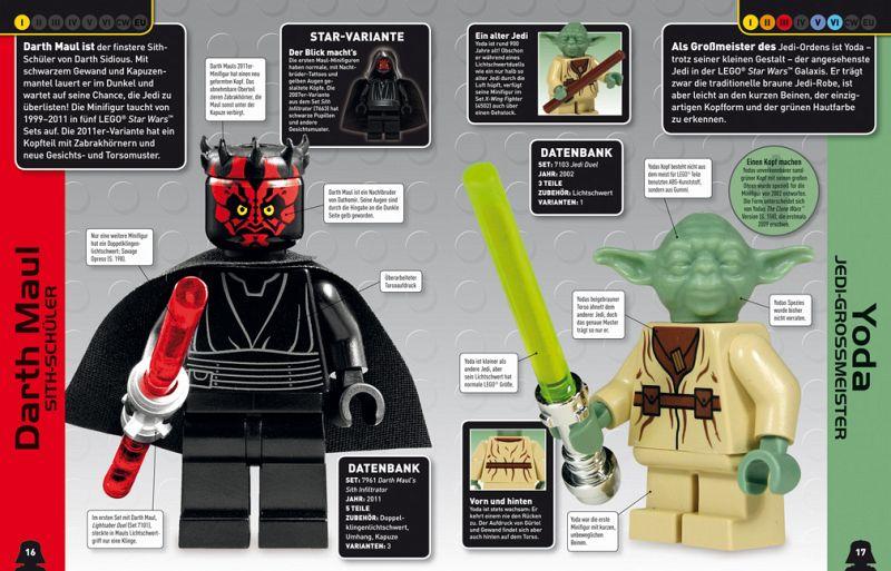 Lego star wars lexikon der minifiguren buch - Star wars personnages lego ...