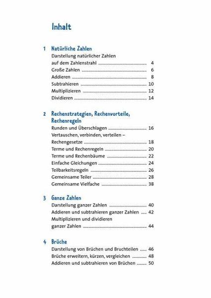 Fantastic Vergleichen Und Ganze Zahlen Einer Tabelle 5Klasse ...