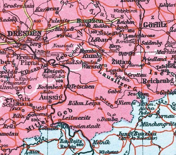 Bildergebnis für Leitmeritz landkarte