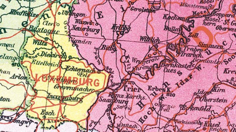 Historische Karte Deutschland Das Grossdeutsche Reich Mit Dem