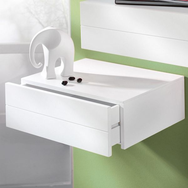 miavilla wandkonsole wei. Black Bedroom Furniture Sets. Home Design Ideas