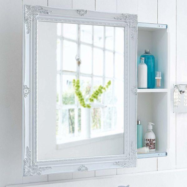 spiegelschrank wei portofrei bei b. Black Bedroom Furniture Sets. Home Design Ideas