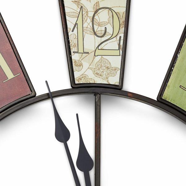 miavilla wanduhr wheel 80 cm. Black Bedroom Furniture Sets. Home Design Ideas
