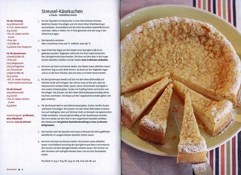 Dr Oetker Cheesecakes Von Dr Oetker Als Taschenbuch Portofrei