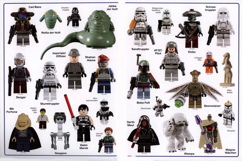 lego star wars minifiguren das gro e stickerbuch buch. Black Bedroom Furniture Sets. Home Design Ideas