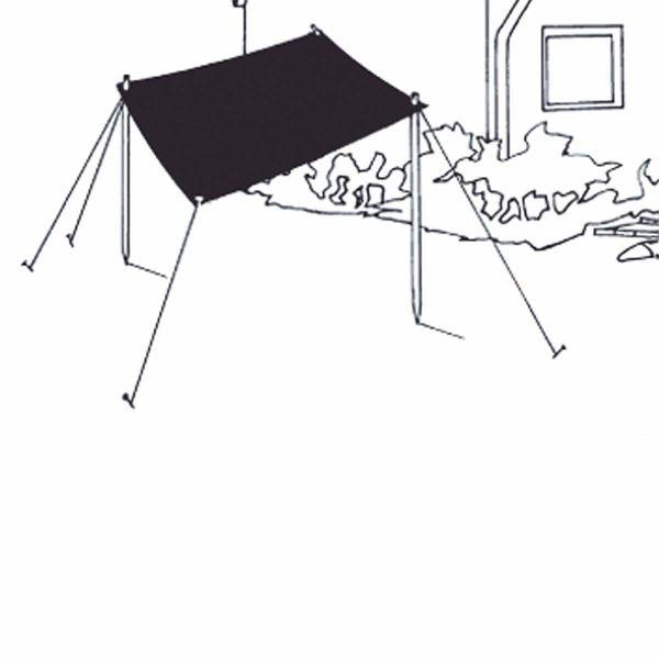 sonnensegel natur. Black Bedroom Furniture Sets. Home Design Ideas