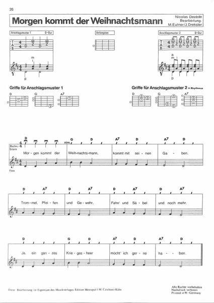 Oh Tannenbaum Blockflöte.Weihnachtslieder Für Gitarre Flöte Und Gesang