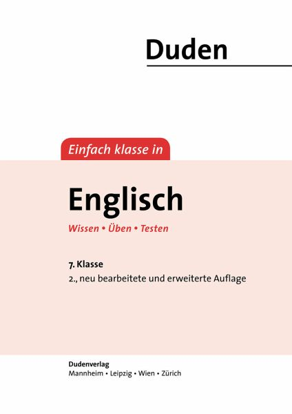 einfach klasse in englisch 7 klasse wissen ben testen m ngelexemplar von annette. Black Bedroom Furniture Sets. Home Design Ideas