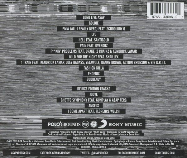 Long live asap deluxe album free download zip