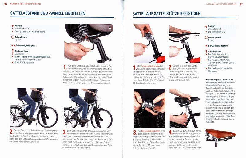 fahrrad reparaturen alle schritt erklart