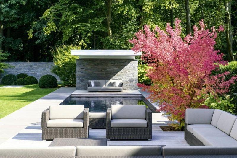 modernes gartendesign das gro e ideenbuch von ulrich. Black Bedroom Furniture Sets. Home Design Ideas