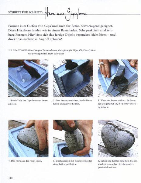 Neue garten deko aus beton selbstgemacht von camilla for Neue gartendeko aus beton