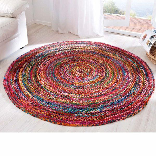 miavilla teppich harlekin bunt 100 cm. Black Bedroom Furniture Sets. Home Design Ideas