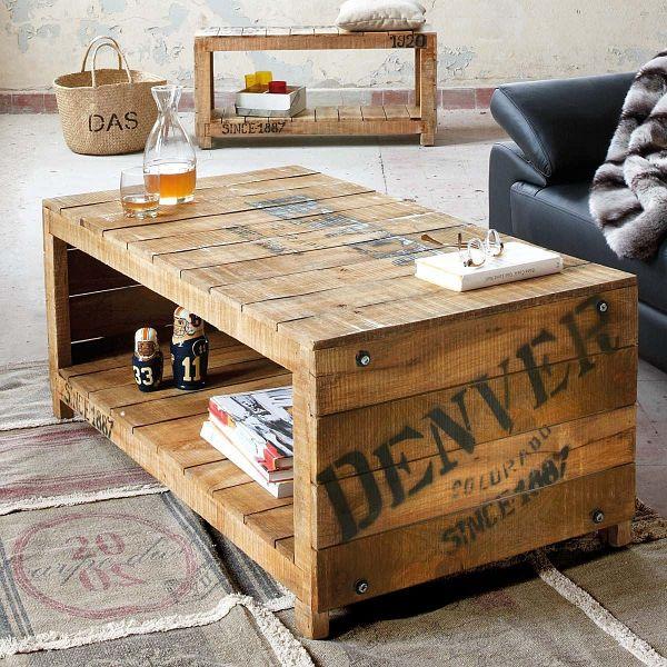 couchtisch denver braun. Black Bedroom Furniture Sets. Home Design Ideas