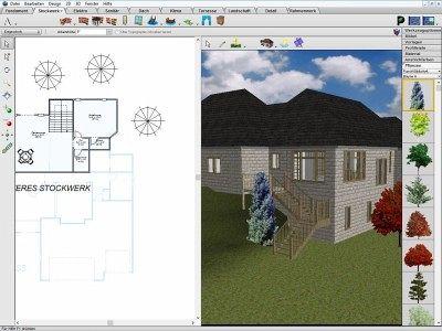 architekt 3d x7 essentials pc software. Black Bedroom Furniture Sets. Home Design Ideas