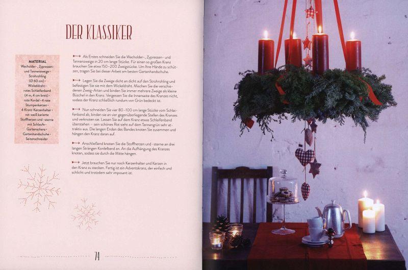 dekoideen f r weihnachten von anke sch tz ilka schulzki. Black Bedroom Furniture Sets. Home Design Ideas