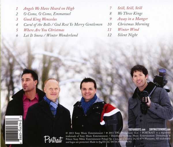 a family christmas von the piano guys cd. Black Bedroom Furniture Sets. Home Design Ideas