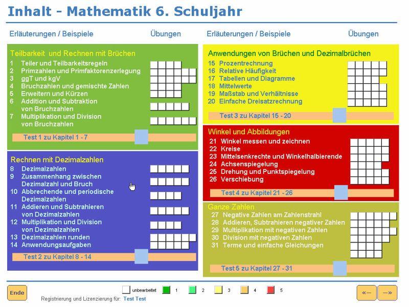 Einfach besser in Mathe 6. Klasse (Download für Windows) - Einfach ...