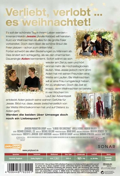 eine braut zu weihnachten film auf dvd. Black Bedroom Furniture Sets. Home Design Ideas