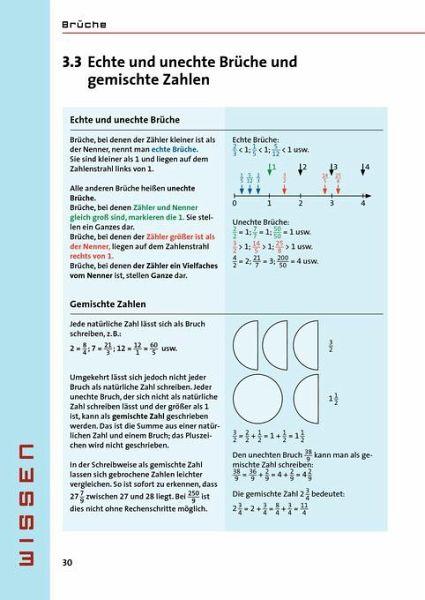 Wissen - Üben -Testen: Mathematik - Brüche und Dezimalzahlen 5.- 7 ...