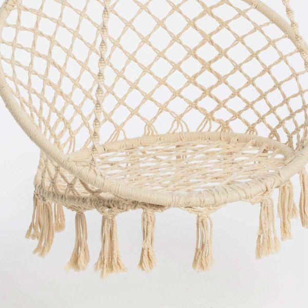 h ngesessel nizza wei. Black Bedroom Furniture Sets. Home Design Ideas