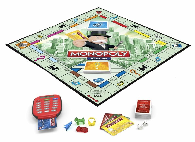 Monopoly Banking Deutsche Version