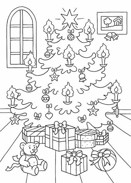 Gemütlich Malbuch Weihnachten Bilder Zeitgenössisch - Framing ...