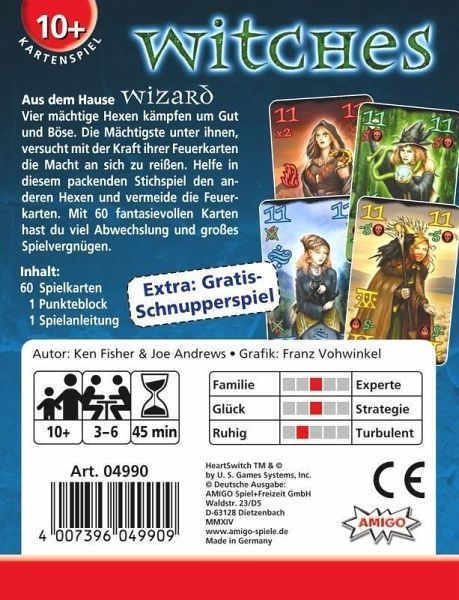 witches kartenspiel