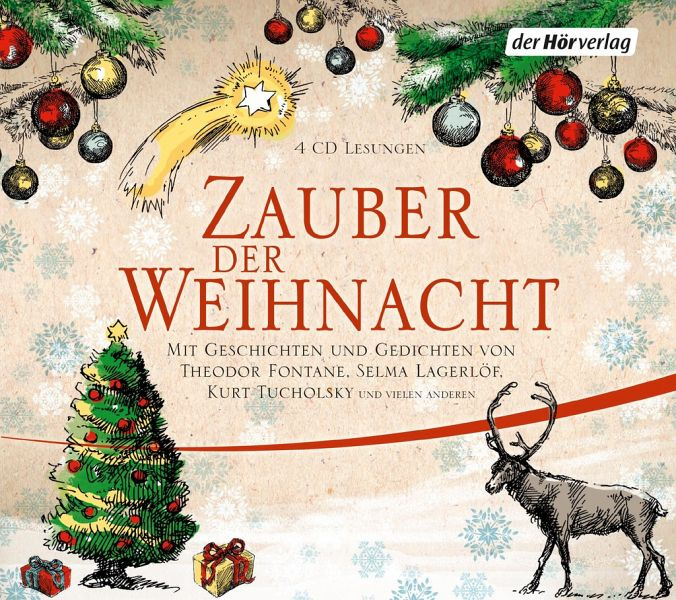 zauber der weihnacht 4 audio cds von wilhelm busch. Black Bedroom Furniture Sets. Home Design Ideas
