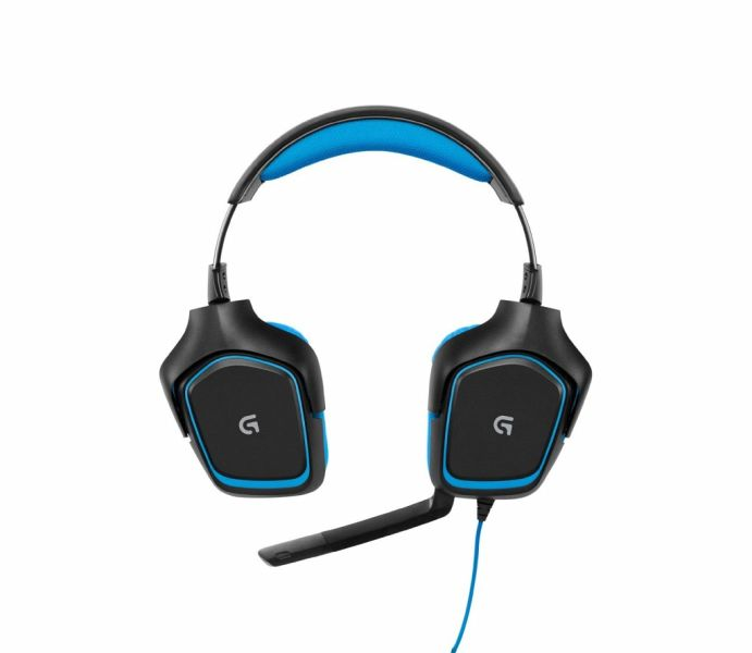 logitech g430 surround gaming headset portofrei bei. Black Bedroom Furniture Sets. Home Design Ideas