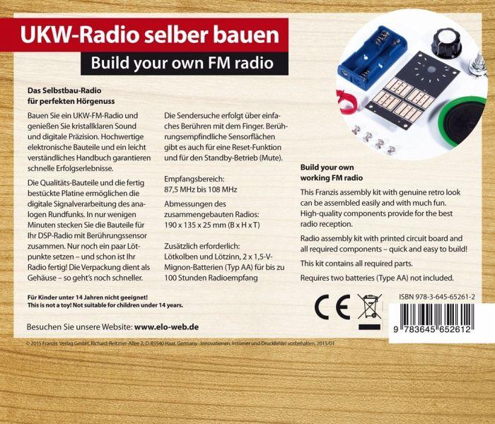 ukw radio selber bauen build your own fm radio bei. Black Bedroom Furniture Sets. Home Design Ideas