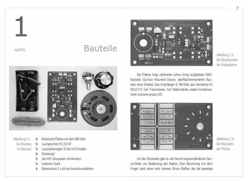 ukw radio selber bauen build your own fm radio. Black Bedroom Furniture Sets. Home Design Ideas