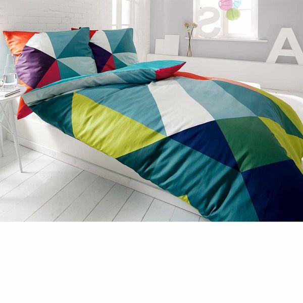 bettw sche modern art bunt 135x200. Black Bedroom Furniture Sets. Home Design Ideas