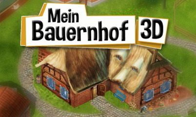 mein bauernhof 3d nintendo 3ds spiel. Black Bedroom Furniture Sets. Home Design Ideas