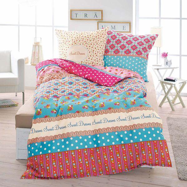 bettw sche sweet dreams bunt 135 x 200 cm. Black Bedroom Furniture Sets. Home Design Ideas