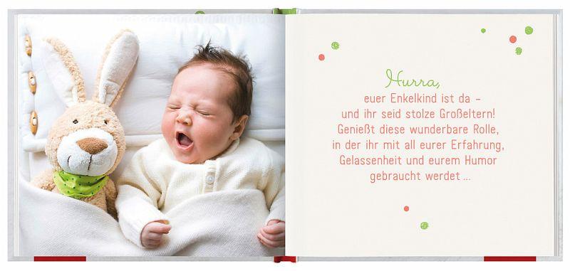 Hurra, euer Enkelkind ist da - Buch - buecher.de
