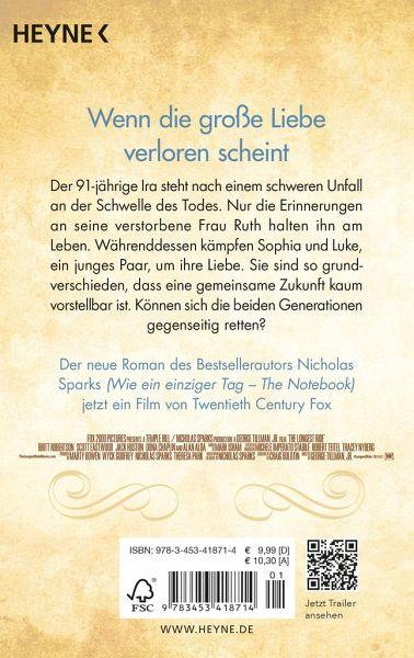 Kein Ort Ohne Dich Von Nicholas Sparks Als Taschenbuch Portofrei